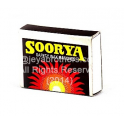 Soorya Saftey Wax Match